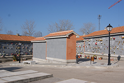 Cementerio Municipal de Las Rozas en Madrid.